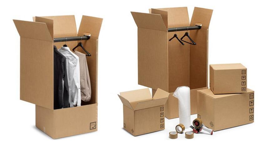 scatole per abiti romagna