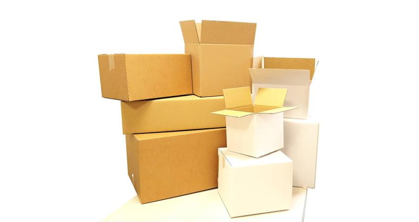 scatole cartone ondulato