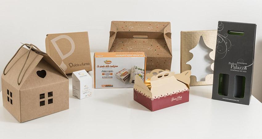 scatole fustellate per alimenti