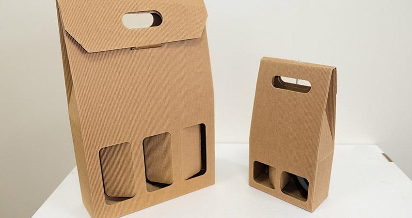 packaging design per prodotti in bottiglia adatto ad essere esposto in un centro commerciale