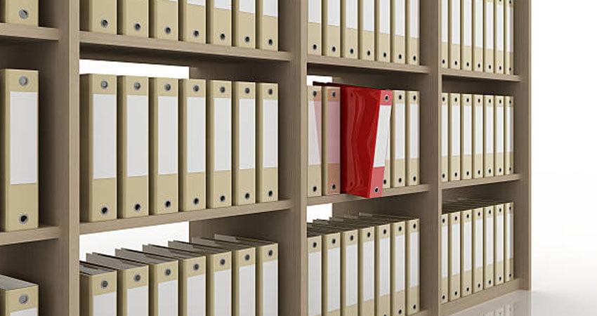 Raccoglitori da ufficio e scatole fustellate per l'archiviazione - Romagna