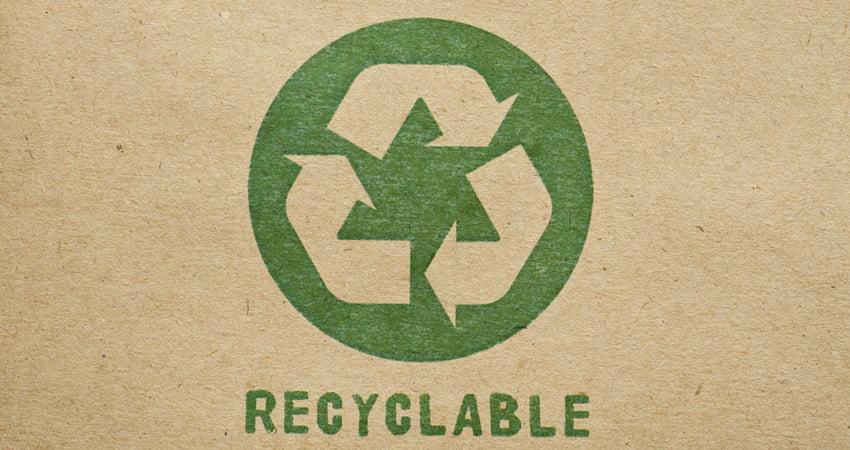 cartone ondulato, un materiale riciclabile