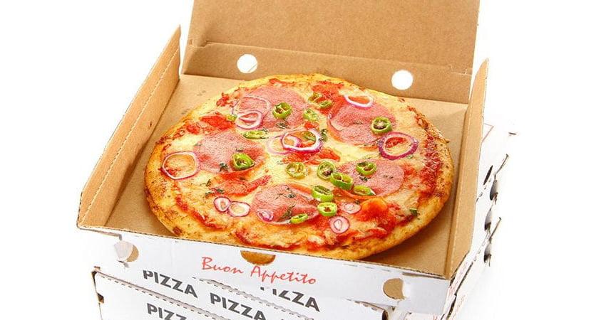 Scatole pizza e cartoni per alimenti