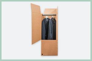scatole per abbigliamento