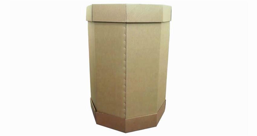 Octabin Box, scatole fondo e coperchio per l'imballaggio di merci sfuse