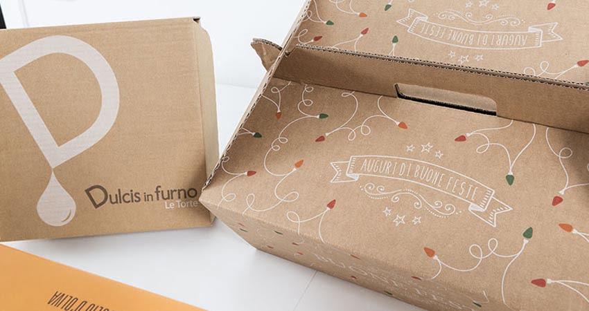 Imballaggi in cartone per delivery