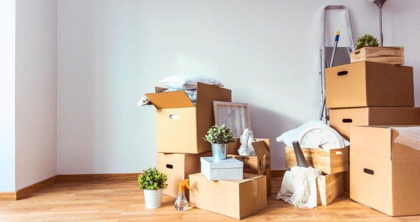 scatole riciclabili