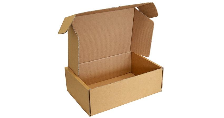 scatole fustellate in cartone ondulato